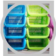 Advanced Polymers - Cestas Plásticas Organizadoras